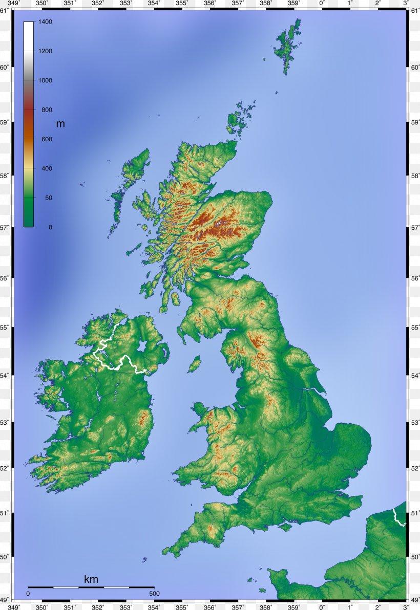 physische karte england England British Isles Topographic Map Physische Karte, PNG