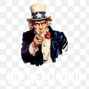 I Want You To Buy The Beauty - James Montgomery Flagg Uncle Sam Federal Government Of The United States Money PNG
