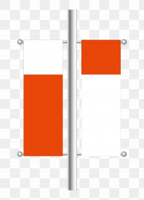 Publicity Red Flag Road - Flag Red PNG