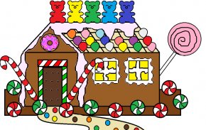 Gingerbread House Cliparts - Gingerbread House Drawing Clip Art PNG