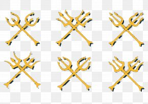 Trident Of The Harpoon - Neptune Trident Of Poseidon PNG