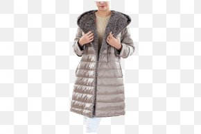 Ms. Ms. Hooded Down Jacket - Outerwear Jacket Icon PNG