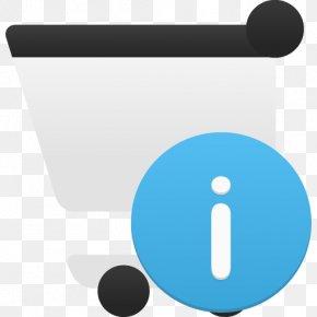 Shopping Cart Info - Blue Angle Communication Brand PNG