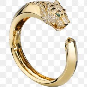 Jewellery - Cartier Jewellery Ring Bracelet Gold PNG