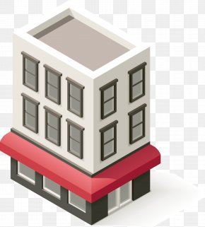 White House Decorative Material - House Gratis PNG