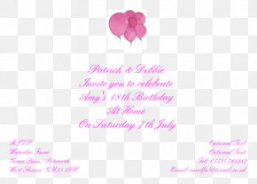 18th Birthday Invitation - Wedding Invitation Birthday Greeting & Note Cards Thisisnessie.com Graphics PNG