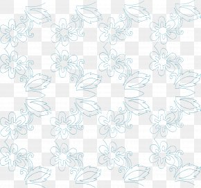 Machine Quilting - Textile White Line Art Pattern PNG
