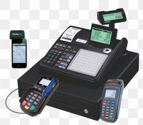 Cash Register - Cash Register Business Retail Casio Till Roll PNG