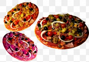 Vegetable Salad Pizza - Sicilian Pizza Mediterranean Cuisine Salad Middle Eastern Cuisine PNG