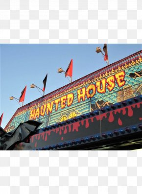 Carnival Summer Privilege - Haunted House Traveling Carnival Amusement Park PNG