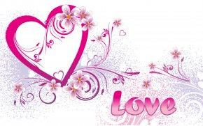 Happy Valentines Day - Love Heart Desktop Wallpaper Clip Art PNG