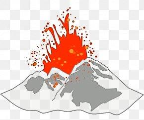 Volcano Transparent Image - Volcano Clip Art PNG