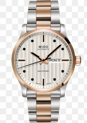 Watch - Mido Automatic Watch Omega SA Coaxial Escapement PNG
