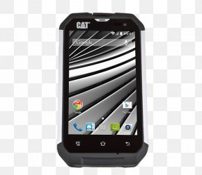 Android - CAT B15Q Android Smartphone Telephone Rugged PNG
