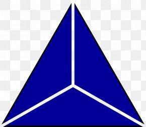 Triangulo Azul - Computer File Logo Clip Art PNG