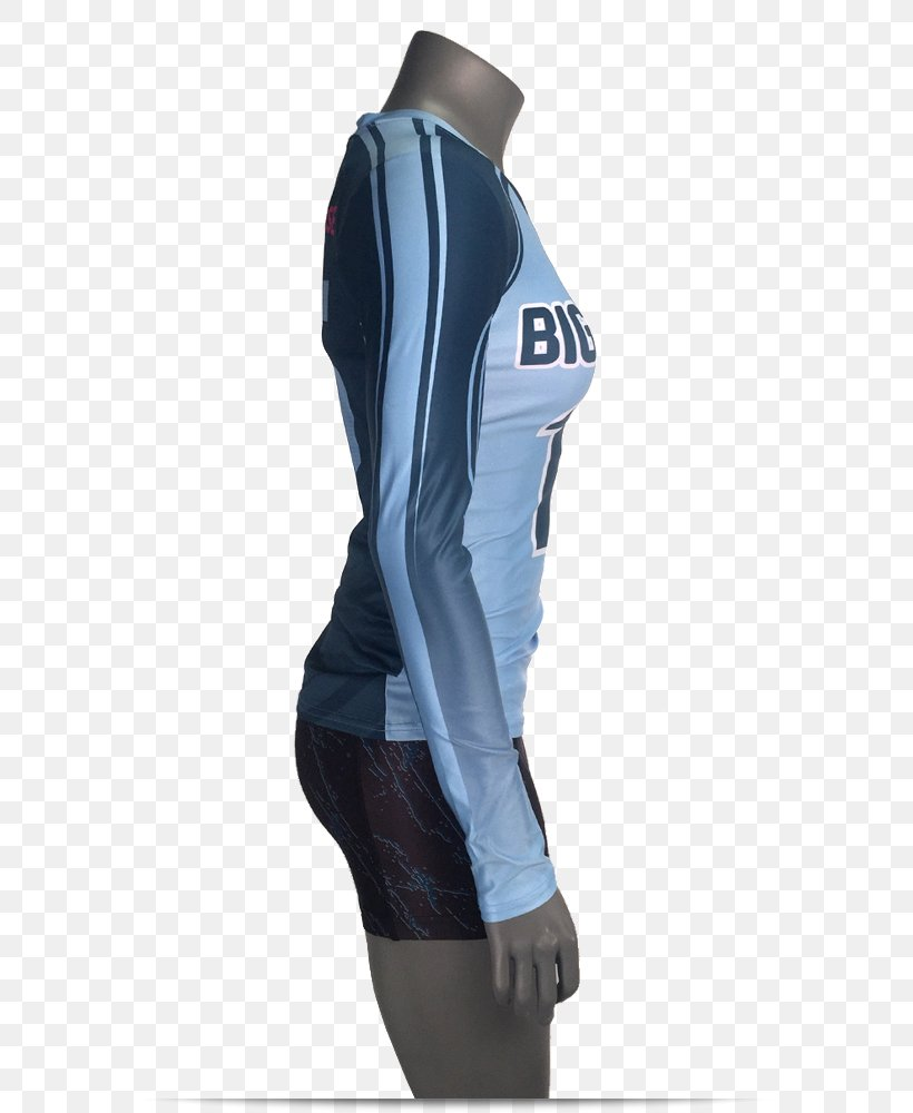 Sleeve Jersey Gilets Jacket Uniform, PNG, 750x1000px, Sleeve, Blue, Cobalt Blue, Electric Blue, Gilets Download Free