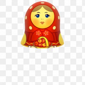 Russian Dolls,tumbler - Matryoshka Doll Emoticon Icon PNG