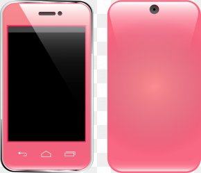 Pink Smartphone - Smartphone Feature Phone Mobile Phone Accessories Google Images PNG