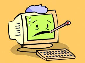 Cliparts Computer Viruses - Computer Virus Laptop Malware PNG