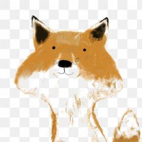 Fox - Red Fox Illustrator Drawing Illustration PNG