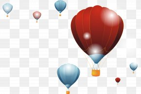 Ramadan Vector Balloon Background - Hot Air Balloon Desktop Wallpaper Image Vector Graphics PNG