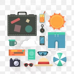 Vector Suitcase - Travel Euclidean Vector Icon PNG
