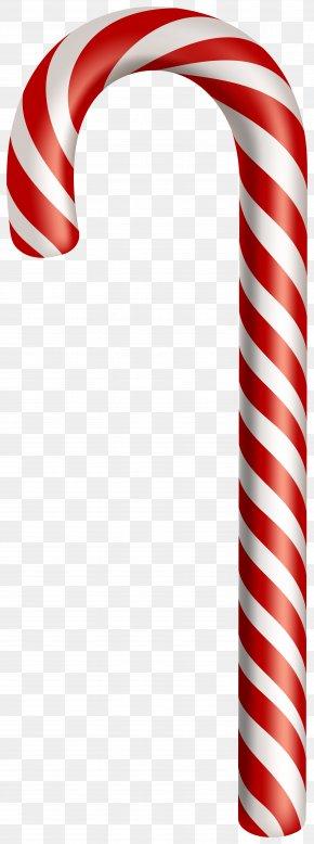 Lollipop Symbol - Candy Cane Clip Art Christmas Image PNG