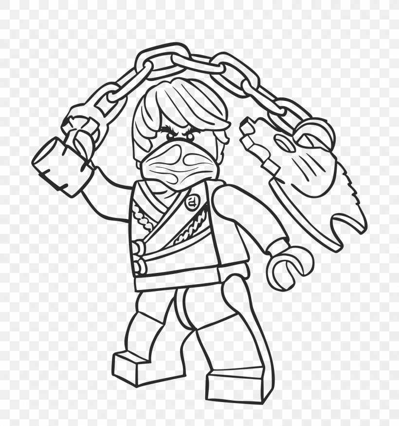 LEGO Ninjago Coloring Pages Drawing Coloring Book, PNG, 1500x1600px, Lego  Ninjago, Area, Arm, Art, Black Download