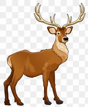 Brown Reindeer PNG Clipart Picture - Rudolph Santa Claus's Reindeer Clip Art PNG