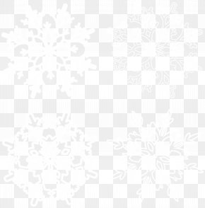 Snowflakes Transparent Clip Art - Black And White Line Point Angle Pattern PNG