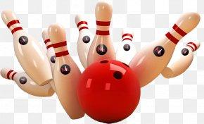 Bowling - Bowling Ball Strike Bowling Pin PNG