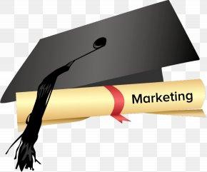 Graduate Hat - Graduation Ceremony Graduate Diploma Square Academic Cap Clip Art PNG