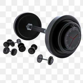 Black Barbell - Barbell Bodybuilding Olympic Weightlifting Dumbbell Sports Equipment PNG