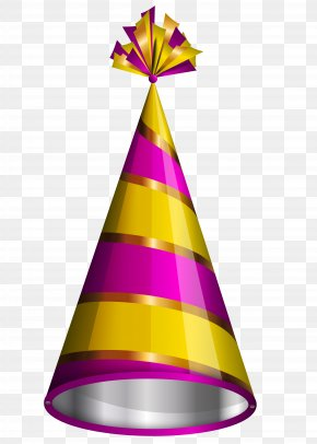 Birthday - Party Hat Birthday Clip Art PNG