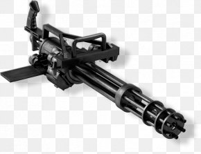 Machine Gun - Minigun Gatling Gun Weapon Machine Gun PNG