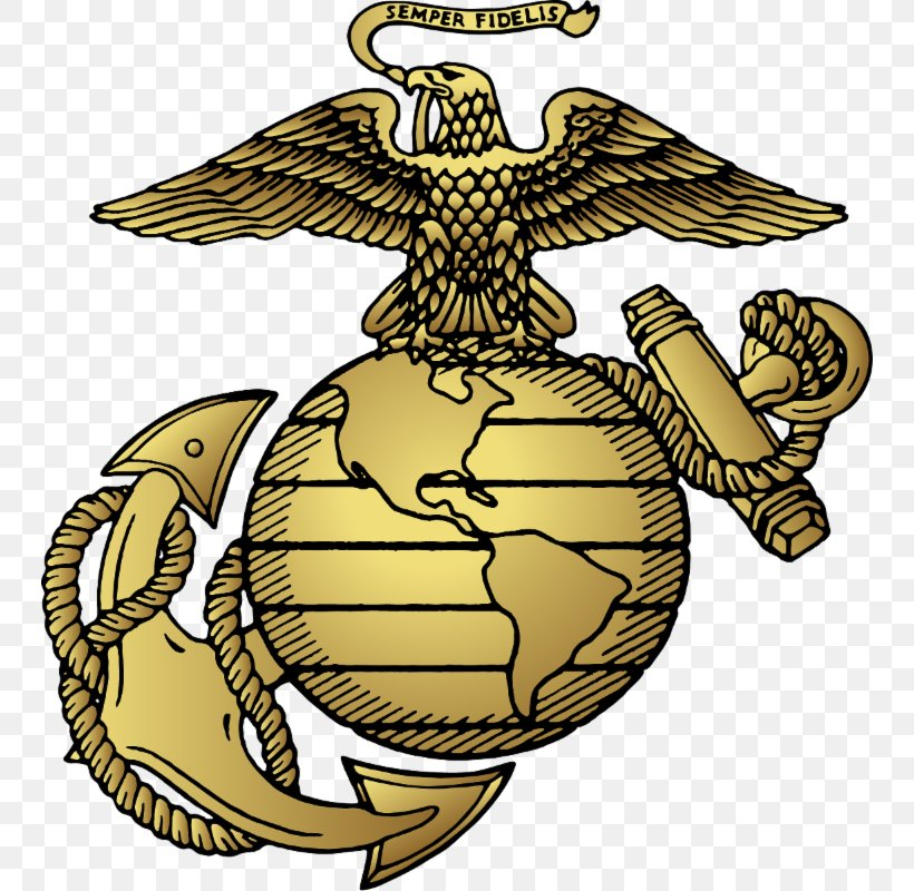 United States Marine Corps Eagle, Globe, And Anchor Marines Military, PNG, 746x800px, United States, Artwork, Commandant Of The Marine Corps, Decal, Dress Uniform Download Free