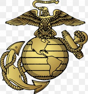 Marine Clipart - United States Marine Corps Eagle, Globe, And Anchor Marines Military PNG