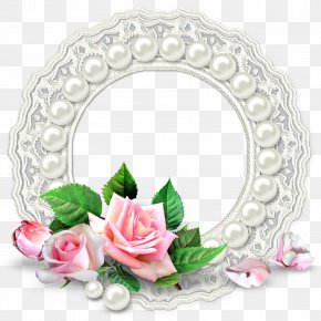 Flower Decoration Ring - Picture Frame Flower Image Editing PNG