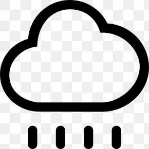 Rain Vector - Rain Symbol Cloud Clip Art PNG
