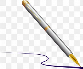 Pen - Fountain Pen Paper Clip Art PNG