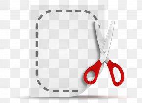 Scissor - Portable Document Format Coupon PNG