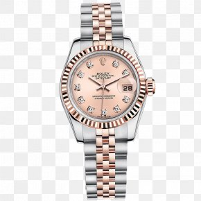 Rolex Wrist Watches Women Table Table Pink - Rolex Datejust Rolex Submariner Rolex Daytona Watch PNG