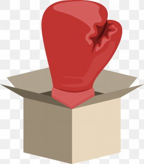 Vector Painted Box Boxing Gloves - Boxing Glove Boxing Glove Musket Transport Ltd PNG