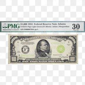 United States - United States One-dollar Bill United States Dollar Large Denominations Of United States Currency Banknote PNG