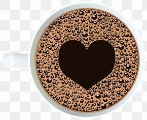 Coffee Cup With Heart Clipart Image - Coffee Cup Latte Mug Cafe PNG