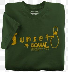 T-shirt - T-shirt Polo Shirt Sleeve Bowling PNG