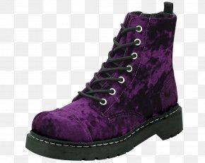 Boot - T.U.K. Viva Mondo Creeper Adult Shoe Boot Brothel Creeper PNG