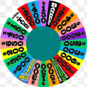 Wheel Mark - Wheel Of Fortune 2 Game Show Network Television Show PNG