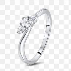Engagement Ring - Engagement Ring Jewellery Diamond Wedding Ring PNG