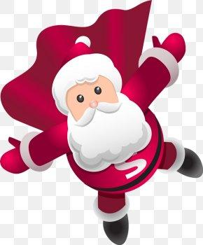 Santa Claus - Santa Claus We Wish You A Merry Christmas PNG